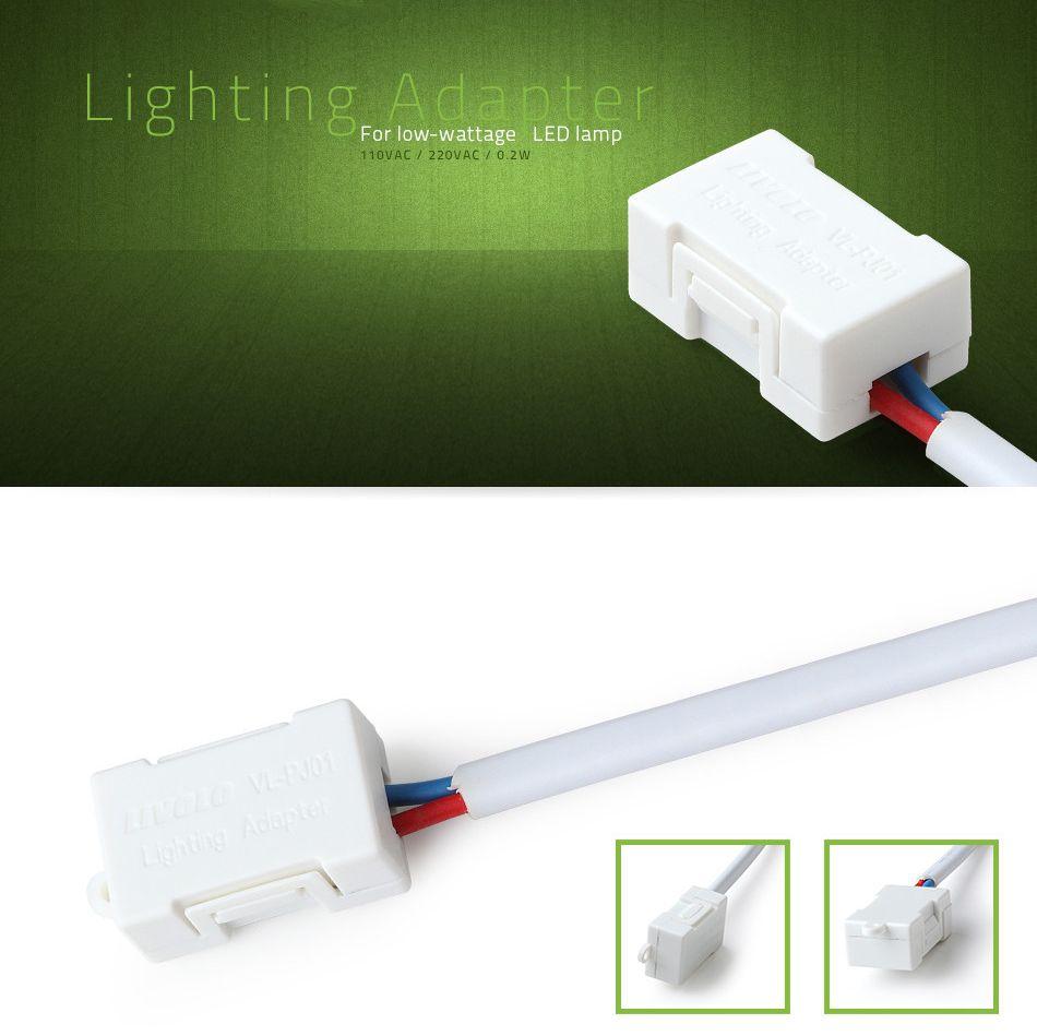 LED kompenzátor minimálneho výkonu pre LED svietidlá slúži na kompenzáciu minimálneho výkonu pre dotykové vypínače značky LIVOLO