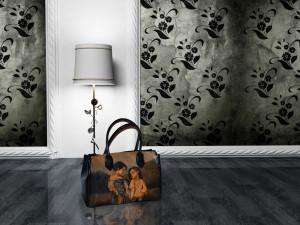 Maľované kabelky, spisovky, peňaženky, etuje, aktovky