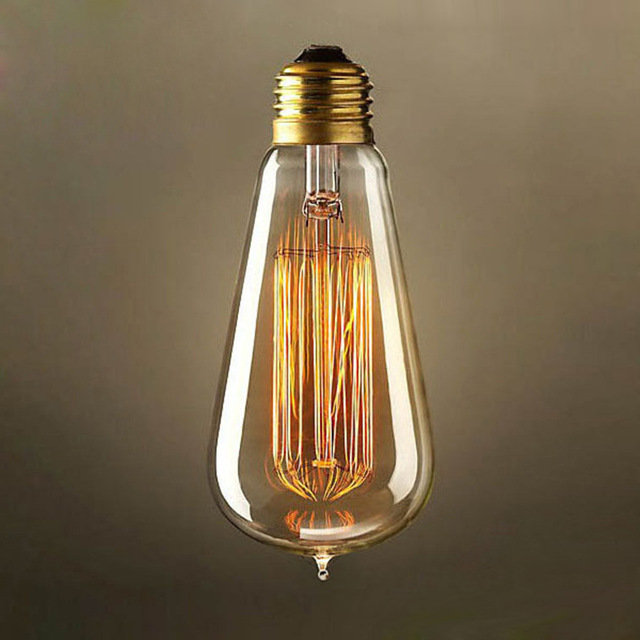 EDISON žiarovka - LANTERN - E27, 40W, 120lm