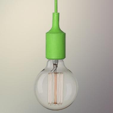 silikonove svietidlo_zelene