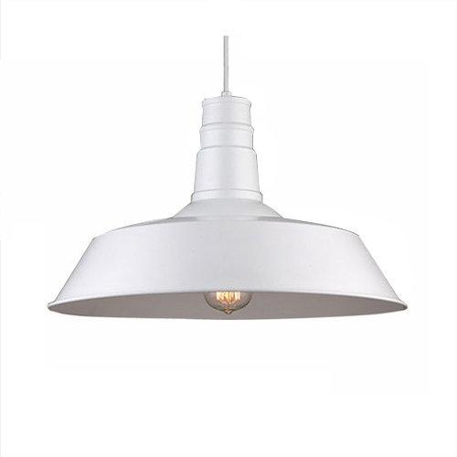 Moderné závesné svietidlo v bielej farbe. Prednosťou moderných svietidiel je kvalita prevedenia a dizajnové riešenie, ktoré je možné využiť v moderných domácnostiach
