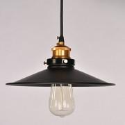 Historické-závesné-svietidlo-s-čiernym-tienidlom-na-žiarovky-typu-E27-je-svietidlo-určené-na-stenu-v-rustikálnom-vzhľade