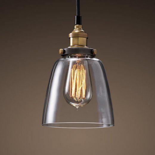 Historický-závesný-sklenený-luster-v-tvare-vázy-na-žiarovky-typu-E27-je-svietidlo-určené-na-stenu-v-primyselnom-vzhľade