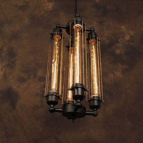 Historický-závesný-vertikálny-luster-4-pätice-čierna-farba-na-žiarovky-typu-E27-je-luster-určený-na-strop-v-originálnom-priemyselnom-vzhľade-2