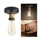 Historické stropné svietidlo Simple v retro dizajne (2)