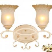 Luxusné-dvojité-nástenné-svietidlo-Krčah-s-ručnou-maľbou-3
