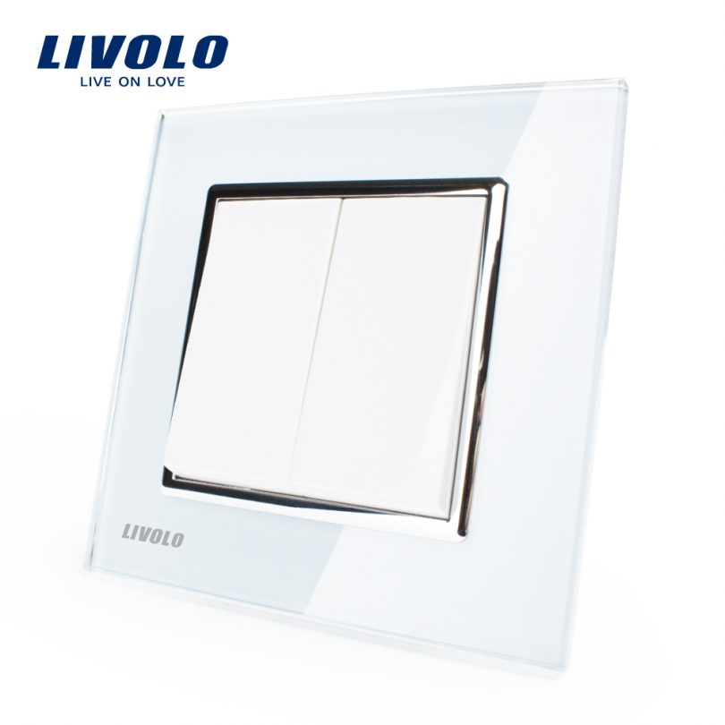 Luxusný-lustrový-vypínač-č.5-v-bielom-prevedení