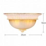 Luxusné-stropné-svietidlo-Dvojitý-Tanier-s-ručnou-maľbou-4