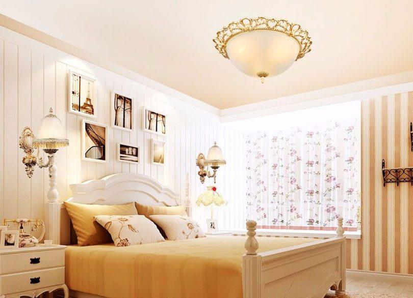 Luxusné-stropné-svietidlo-Tanier-s-ručnou-maľbou-2