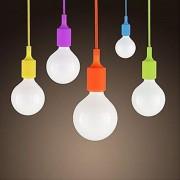 Závesné svietidlo (stropné svietidlo, luster) je kvalitný a zároveň moderný typ stropného lustru vyrobené z kvalitného silikónu