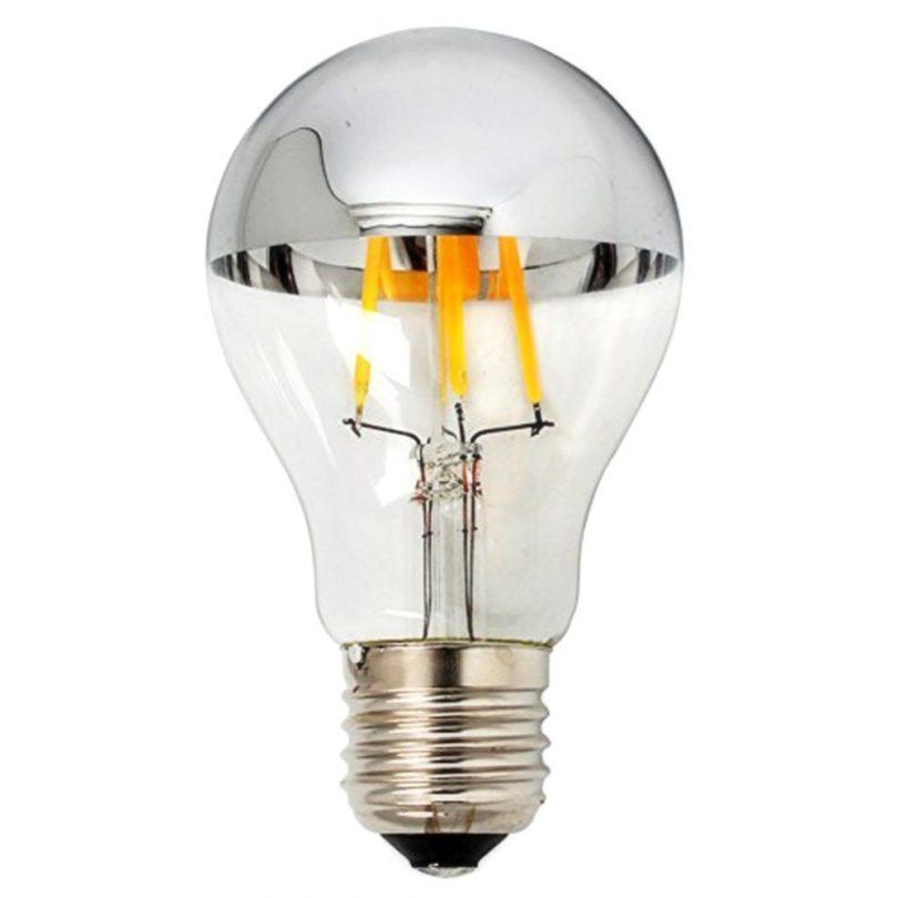 Zrkadlová dekoračná žiarovka 4W, E27, CLASSIC je prekrásna moderná žiarovka obsahujúca zrkadlové sklo, ktoré vytvára jedinečné efekty na stenu