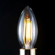 FILAMENT žiarovka - CANLDE - E14, Teplá biela, 2W, 280lm (1)