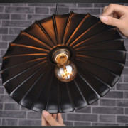 Historické závesné svietidlo v talianskom štýle, 240mm (6)