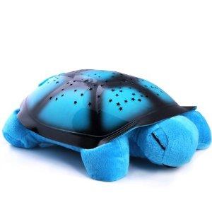 Magická svietiaca korytnačka v modrej farbe (1)