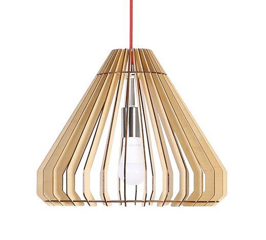 Originálne závesné drevené svietidlo z kolekcie iWood - CAPSULE