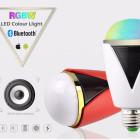 Inteligentná LED žiarovka E27 s bluetooth reproduktorom12