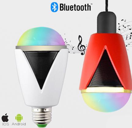 Inteligentná LED žiarovka E27 s bluetooth reproduktorom2