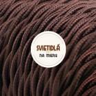 Kábel-dvojžilový-skrútený-v-tmavo-hnedej-farbe-bavlna-2-x-0.75mm-1-meter-2