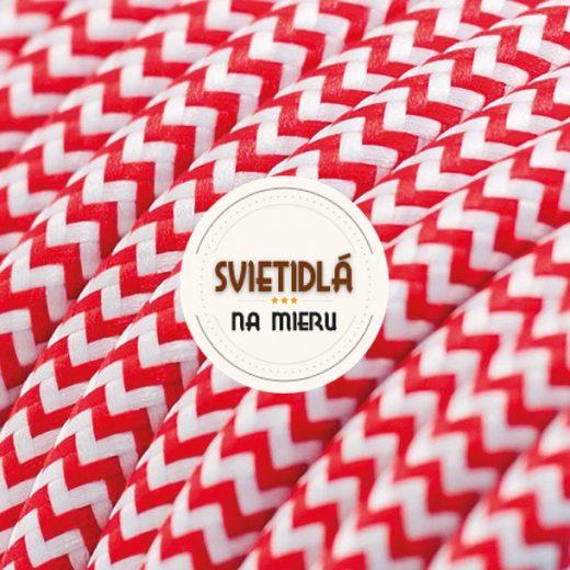 Kábel-dvojžilový-v-podobe-textilnej-šnúry-so-vzorom-RedWhite-2-x-0.75mm-1-meter-1