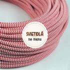 Kábel-dvojžilový-v-podobe-textilnej-šnúry-so-vzorom-RedWhite-2-x-0.75mm-1-meter-2