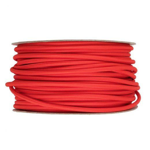 Kábel-dvojžilový-v-podobe-textilnej-šnúry-v-červenej-farbe-2-x-0.75mm-1-meter