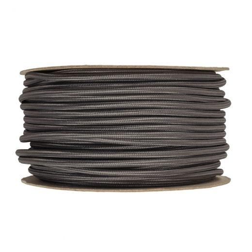 Kábel-dvojžilový-v-podobe-textilnej-šnúry-v-šedej-farbe-2-x-0.75mm-1-meter