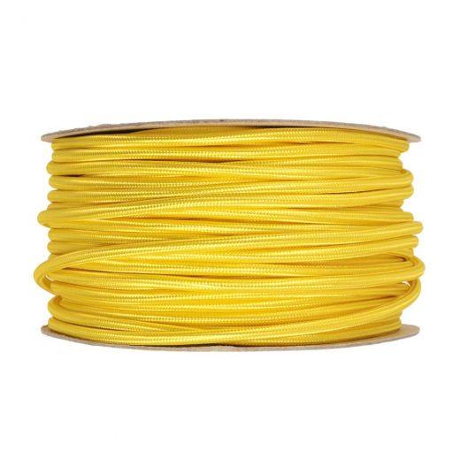 Kábel-dvojžilový-v-podobe-textilnej-šnúry-v-žltej-farbe-2-x-0.75mm-1-meter-1
