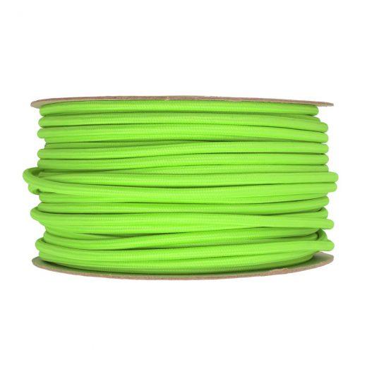 Kábel-dvojžilový-v-podobe-textilnej-šnúry-v-zelenej-farbe-2-x-0.75mm-1-meter