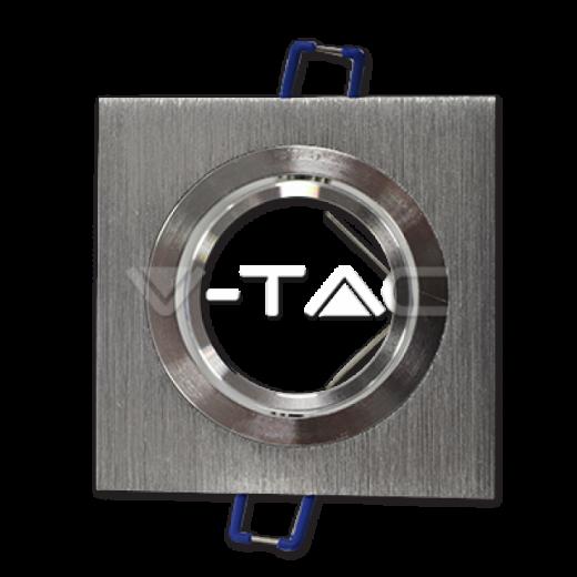 Rámik hranatý výklopný - brúsený hliník, V-TAC