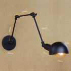 Retro nástenné svietidlo LongArm s nastaviteľným ramenom4