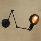 Retro nástenné svietidlo LongArm s nastaviteľným ramenom5