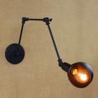 Retro nástenné svietidlo LongArm s nastaviteľným ramenom6