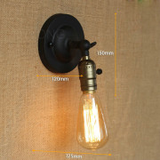 Retro nástenné svietidlo Personal5