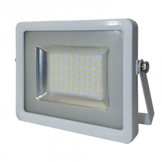 SMD LED reflektor - 20W, 1600lm, Studená biela, biely