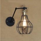 Starodávna nástenná lampa Evening s klietkou (3)
