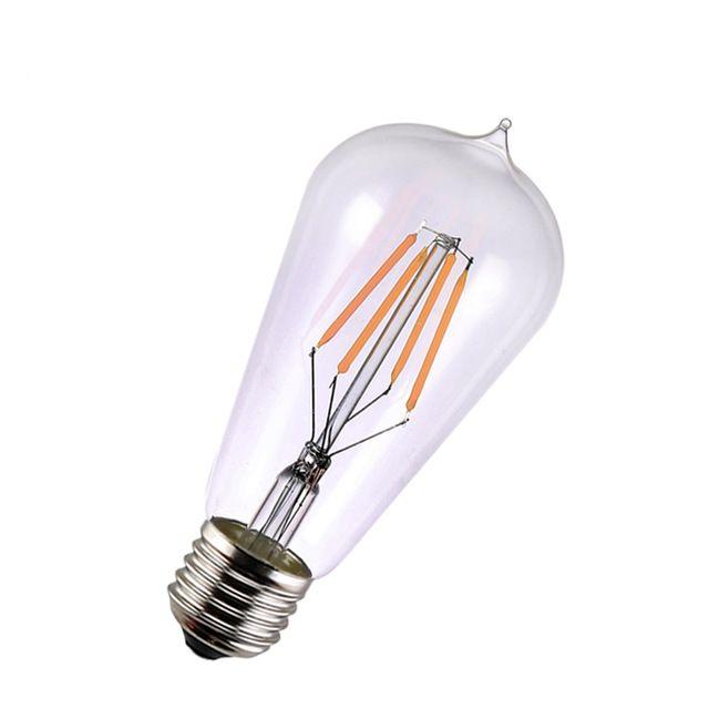 FILAMENT žiarovka - MINI LANTERN - E27, 4W, 450lm (5)