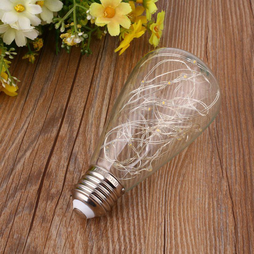 Vďaka dynamickému dizajnu, tieto žiarovky napodobňujú klasicky štýl EDISON žiaroviek