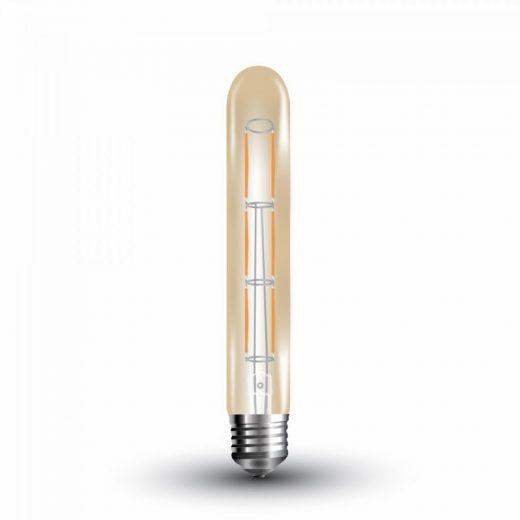 FILAMENT žiarovka - Rude Tube - E27, 6W, 600lm, Teplá biela