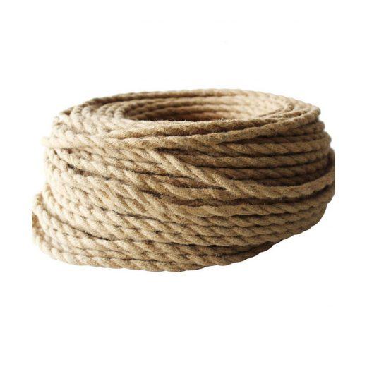 Kábel dvojžilový v podobe retro lana, 2 x 0.75mm, 1 meter (2)