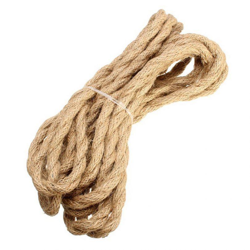 Kábel dvojžilový v podobe retro lana, 2 x 0.75mm, 1 meter (3)