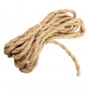 Kábel dvojžilový v podobe retro lana, 2 x 0.75mm, 1 meter (4)