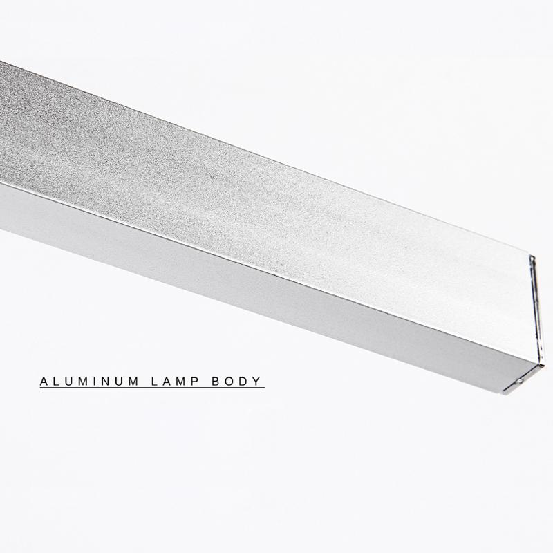 LED 7W nástenné svietidlo s nerezovej ocele vysokej kvality určené do kupeľne, wc, kuchyne a pod (6)