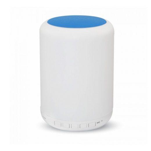 LED Stolová lampa s bluetooth reproduktorom, dotykové ovládanie, modrá farba