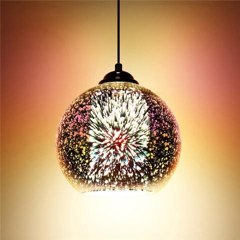 Moderné závesné svietidlo z kolekcie 3D Fireworks (1)