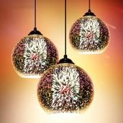 Moderné závesné svietidlo z kolekcie 3D Fireworks (3)