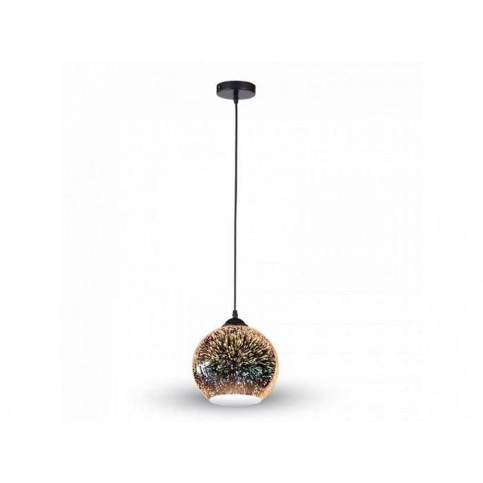 Moderné závesné svietidlo z kolekcie 3D Fireworks