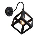 Kreatívne retro nástenné svietidlo v štýle kocky5