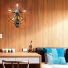 Kreatívne retro nástenné svietidlo v štýle ventilátora6