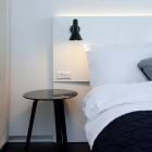 Luxusné nástenné svietidlo Nordic v čiernej farbe kombinuje kvalitný kov s luxusným dizajnom1