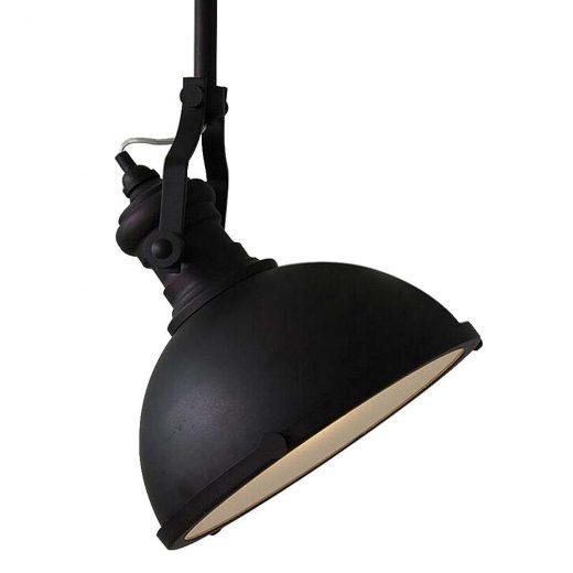 Mohutné stropné reflektorové svietidlo v retro štýle. Svietidlo je vhodné ako hlavné osvetľovacie svietidlo do hotelov, barov, reštaurácií, hál.1
